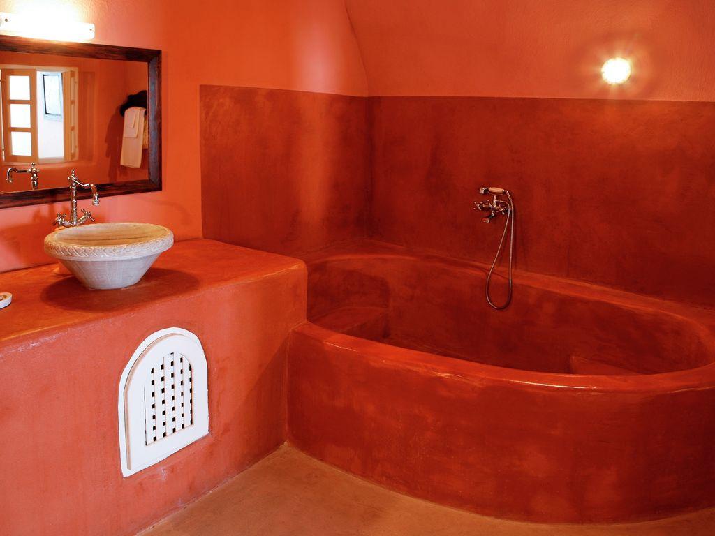 Ferienhaus Luxuriöse Villa mit Whirlpool in Megalochori Santorini (365026), Thira, Santorini, Kykladen, Griechenland, Bild 20