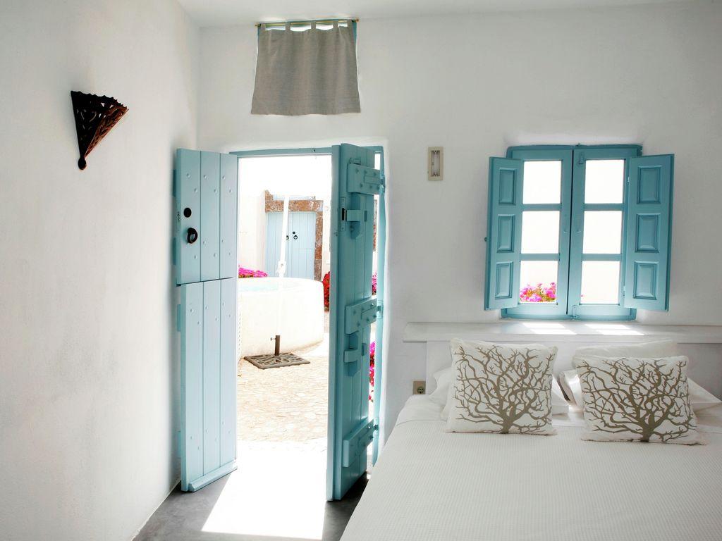 Ferienhaus Luxuriöse Villa mit Whirlpool in Megalochori Santorini (365026), Thira, Santorini, Kykladen, Griechenland, Bild 17