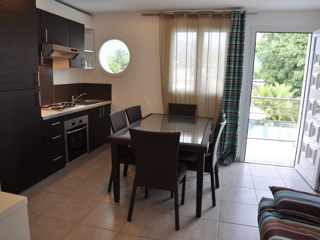 Ferienwohnung Geräumiges Appartement in Moriani-Plage mit Swimmingpool (398119), San Nicolao, Nordkorsika, Korsika, Frankreich, Bild 6