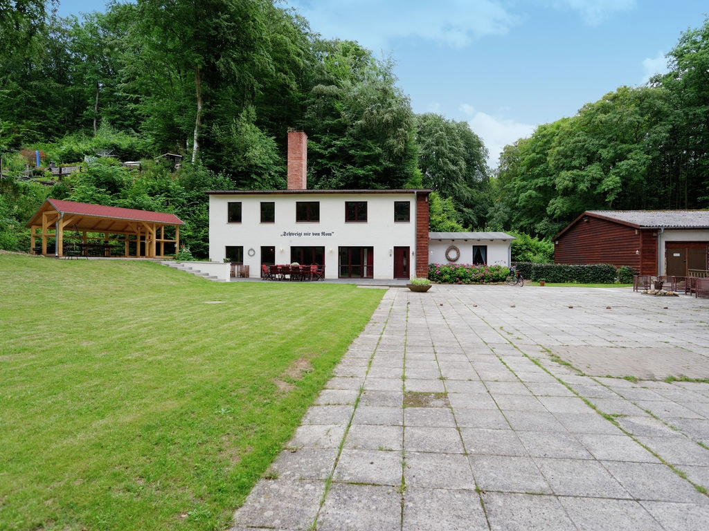 Gehobenes Ferienhaus in Bad Stürer mit Terras Ferienhaus in Deutschland