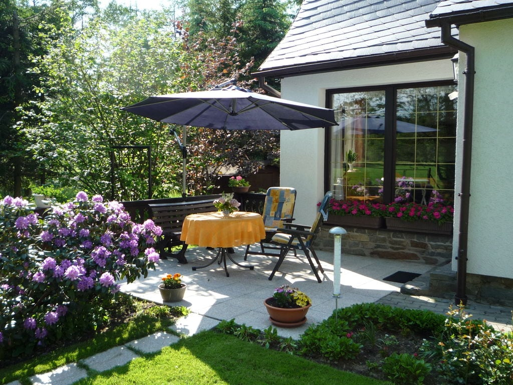 Holiday house Ruhiges Ferienhaus in Sachsen mit privater Terrasse (387327), Schlettau, The Ore Mountains, Saxony, Germany, picture 13