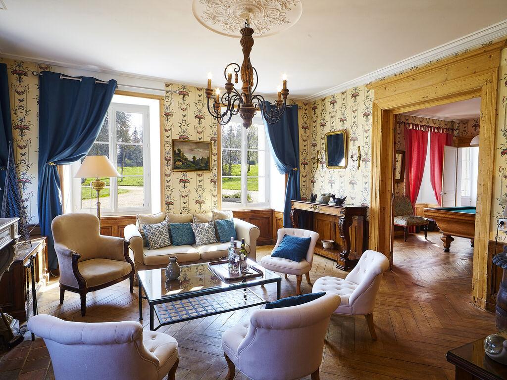 Ferienhaus Schloss und seine Nebengebäude mit Terrasse in Asnières (411630), Cormeilles, Calvados, Normandie, Frankreich, Bild 8
