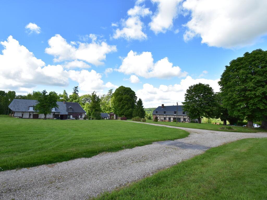 Ferienhaus Schloss und seine Nebengebäude mit Terrasse in Asnières (411630), Cormeilles, Calvados, Normandie, Frankreich, Bild 6