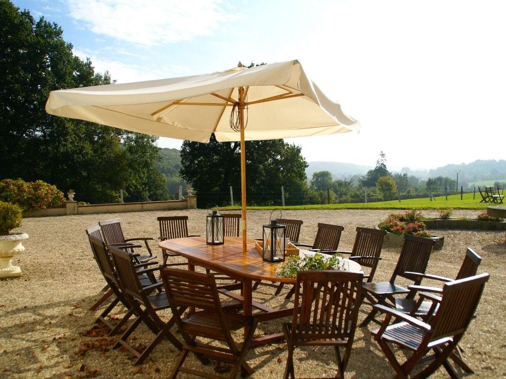 Ferienhaus Denkmalgeschütztes Schloss in Asnières mit Terrasse (411622), Cormeilles, Calvados, Normandie, Frankreich, Bild 1