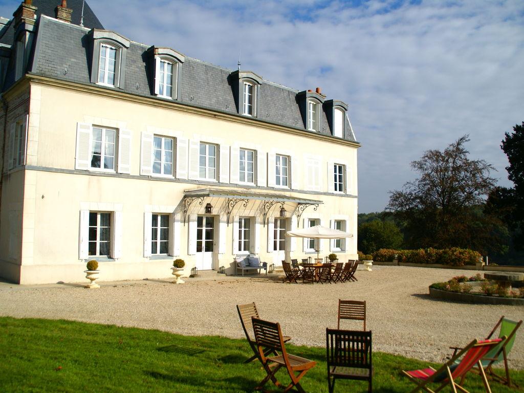 Ferienhaus Denkmalgeschütztes Schloss in Asnières mit Terrasse (411622), Cormeilles, Calvados, Normandie, Frankreich, Bild 8