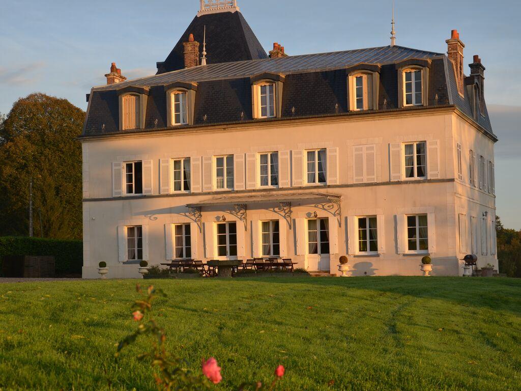 Ferienhaus Denkmalgeschütztes Schloss in Asnières mit Terrasse (411622), Cormeilles, Calvados, Normandie, Frankreich, Bild 9