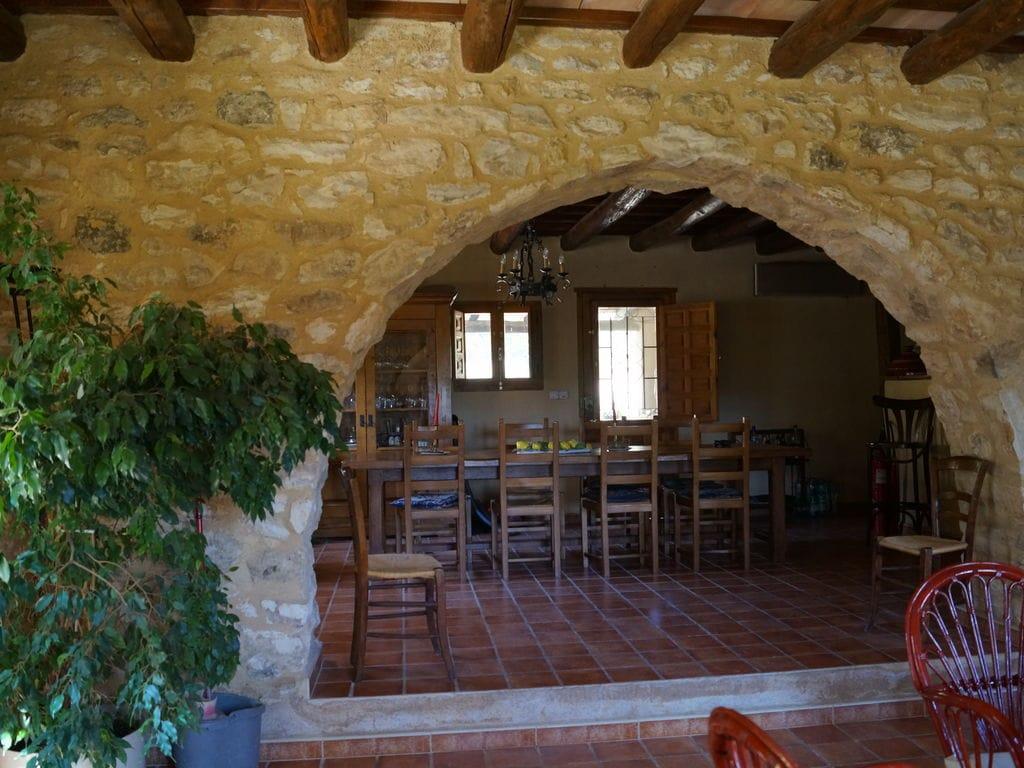Ferienhaus Wohliges Cottage in Renau, Costa Dorada, überdachtes Patio (418950), Vilabella, Tarragona, Katalonien, Spanien, Bild 8