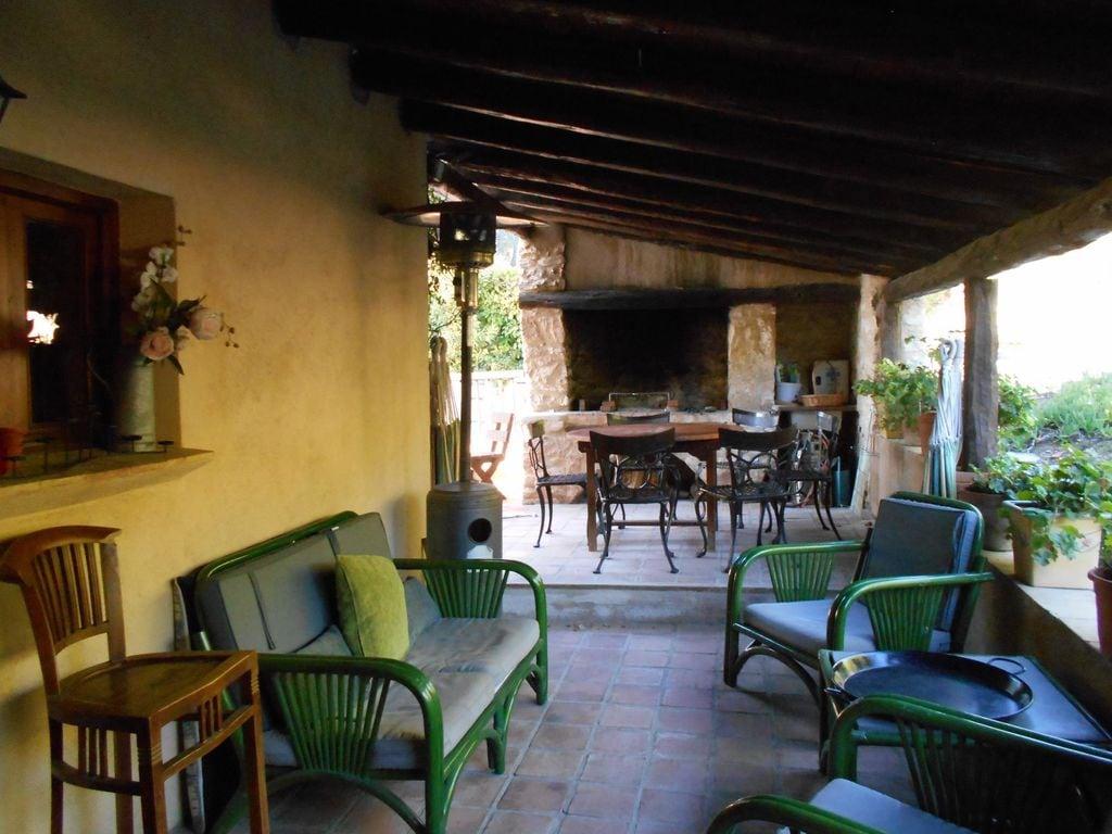 Ferienhaus Wohliges Cottage in Renau, Costa Dorada, überdachtes Patio (418950), Vilabella, Tarragona, Katalonien, Spanien, Bild 27