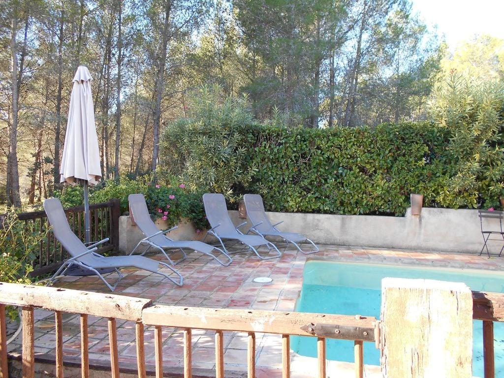 Ferienhaus Wohliges Cottage in Renau, Costa Dorada, überdachtes Patio (418950), Vilabella, Tarragona, Katalonien, Spanien, Bild 7