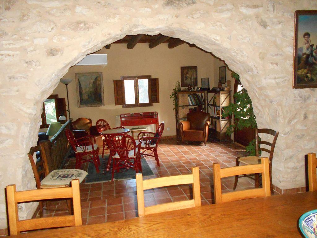 Ferienhaus Wohliges Cottage in Renau, Costa Dorada, überdachtes Patio (418950), Vilabella, Tarragona, Katalonien, Spanien, Bild 14