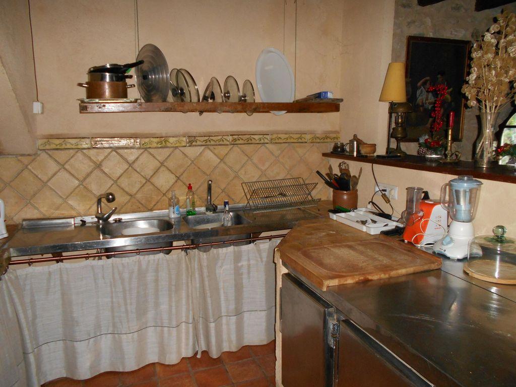 Ferienhaus Wohliges Cottage in Renau, Costa Dorada, überdachtes Patio (418950), Vilabella, Tarragona, Katalonien, Spanien, Bild 15