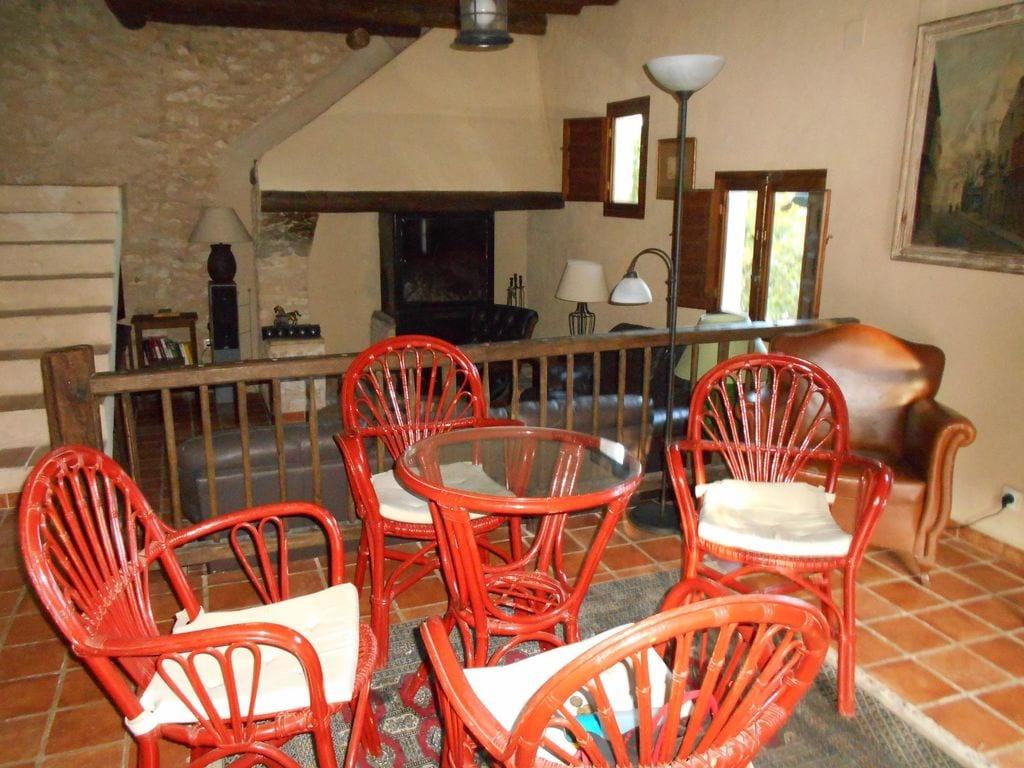 Ferienhaus Wohliges Cottage in Renau, Costa Dorada, überdachtes Patio (418950), Vilabella, Tarragona, Katalonien, Spanien, Bild 2
