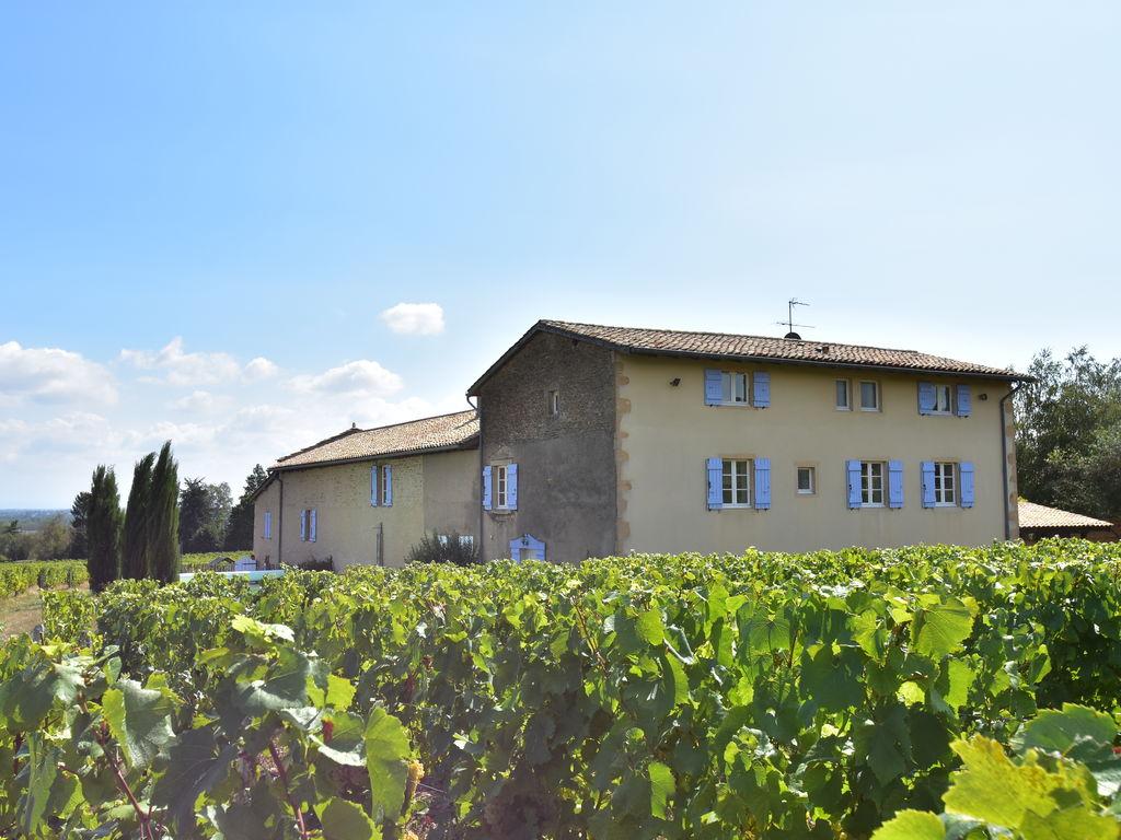 Ferienhaus Geräumiges Landhaus mit Pool in Vinzelles (424589), Crêches sur Saône, Saône-et-Loire, Burgund, Frankreich, Bild 3