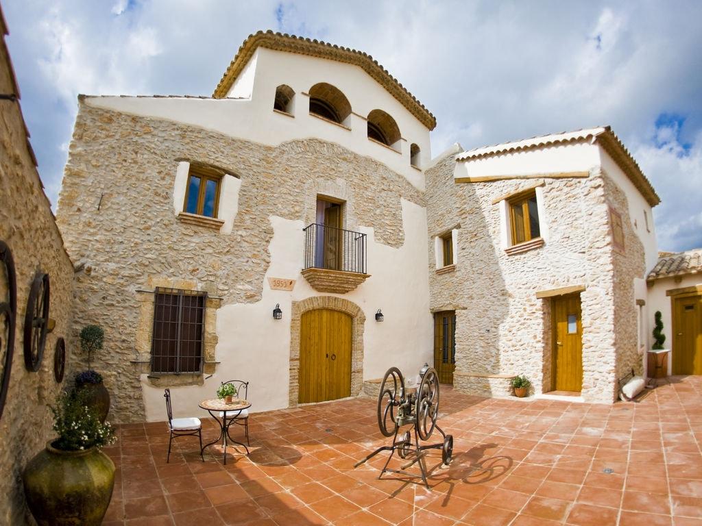Ferienhaus Luxuriöses Herrenhaus in Katalonien mit Sauna (447521), La Bisbal del Penedes, Tarragona, Katalonien, Spanien, Bild 2