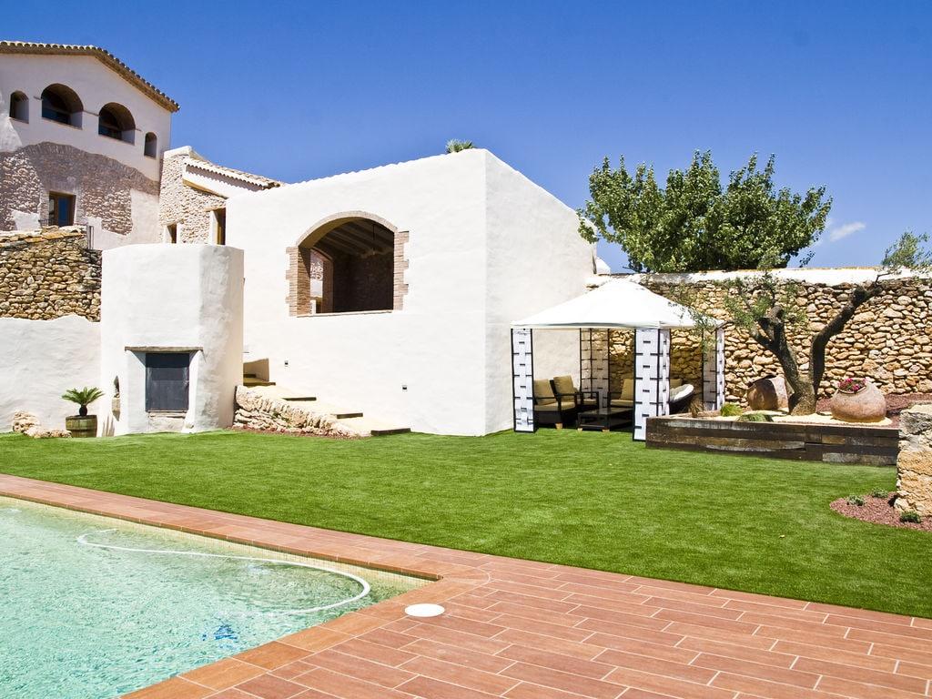 Ferienhaus Luxuriöses Herrenhaus in Katalonien mit Sauna (447521), La Bisbal del Penedes, Tarragona, Katalonien, Spanien, Bild 27