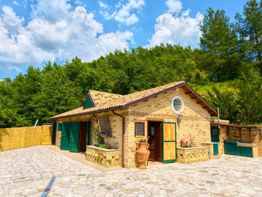 Ferienhaus Charmantes Ferienhaus Ripa del Sole mit Sauna in Cagli (445126), Cagli, Pesaro und Urbino, Marken, Italien, Bild 7
