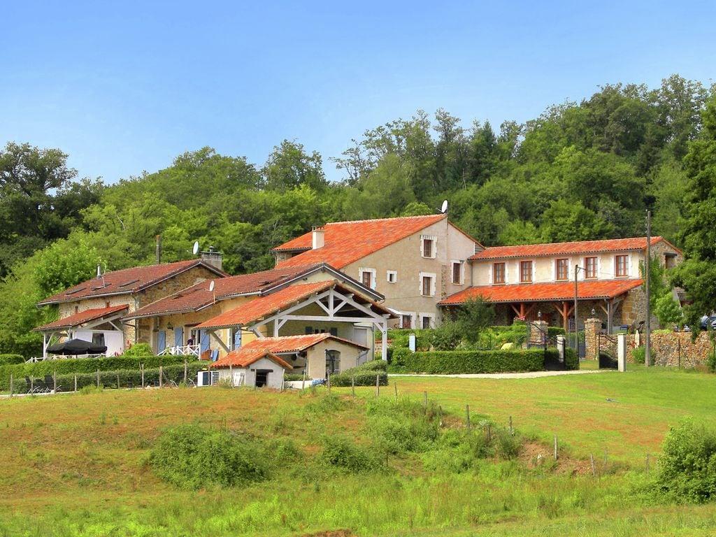 Ferienhaus Gemütliches Ferienhaus in Roussines mit eigener Terrasse (464997), Cherves Châtelars, Charente, Poitou-Charentes, Frankreich, Bild 26