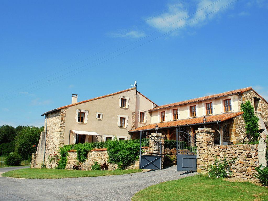 Ferienhaus Gemütliches Ferienhaus in Roussines mit eigener Terrasse (464997), Cherves Châtelars, Charente, Poitou-Charentes, Frankreich, Bild 10
