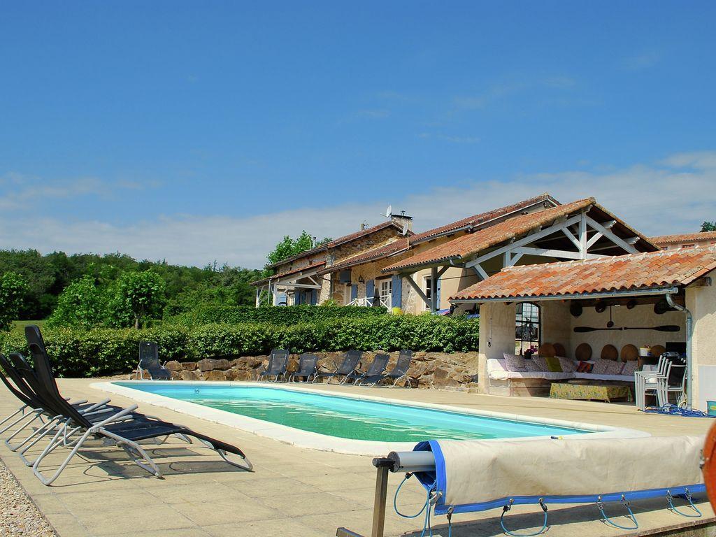 Ferienhaus Gemütliches Ferienhaus in Roussines mit eigener Terrasse (464997), Cherves Châtelars, Charente, Poitou-Charentes, Frankreich, Bild 9