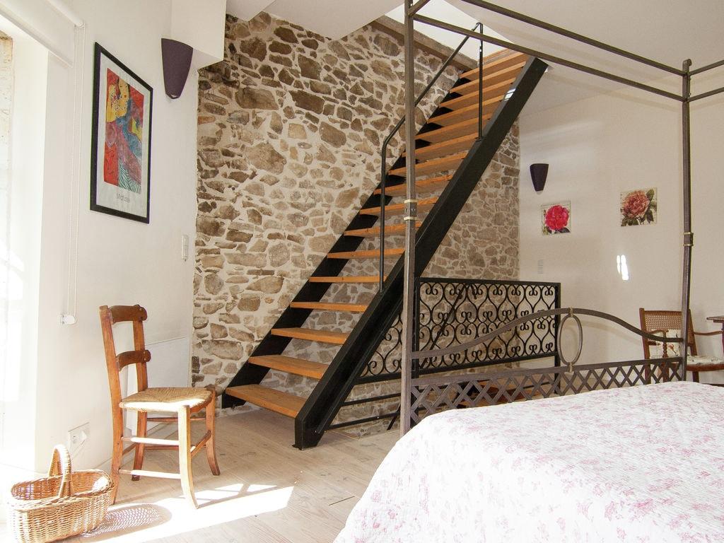 Ferienhaus Romantische Turm mit Dachterrasse, viel Privatsphäre und gebrauch beheiztem Pool (465003), Cherves Châtelars, Charente, Poitou-Charentes, Frankreich, Bild 16