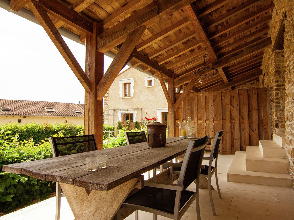 Ferienhaus Sehr schönes Ferienhaus mit Studio in einer Domäne mit beheiztem Pool. (465008), Cherves Châtelars, Charente, Poitou-Charentes, Frankreich, Bild 24
