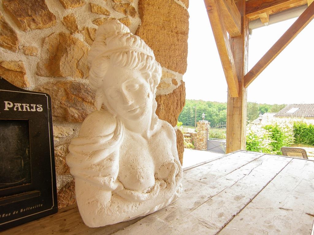 Ferienhaus Sehr schönes Ferienhaus mit Studio in einer Domäne mit beheiztem Pool. (465008), Cherves Châtelars, Charente, Poitou-Charentes, Frankreich, Bild 35