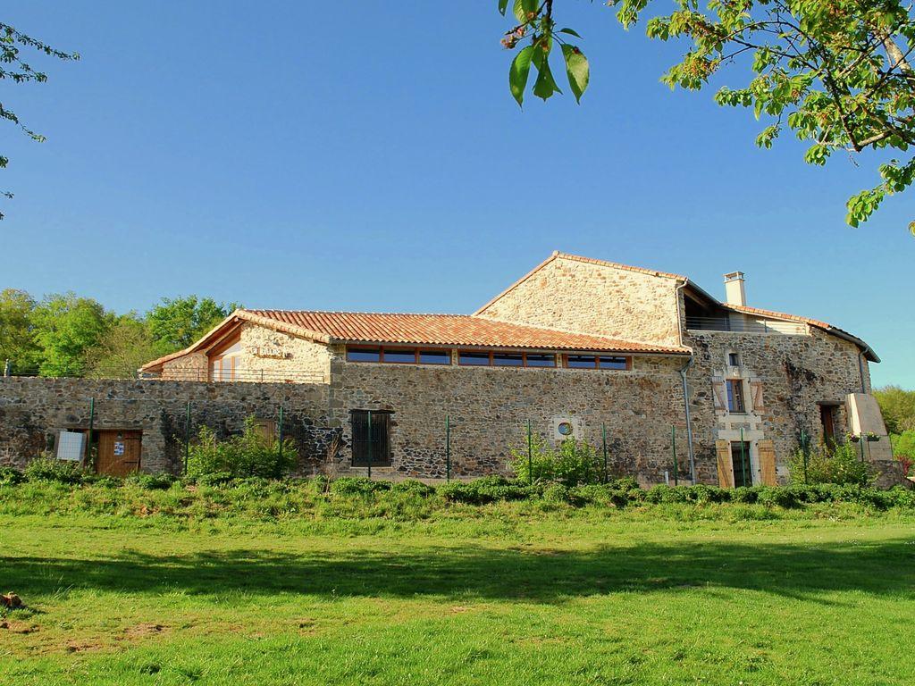 Ferienhaus für Behinderte geeignet auf einem Landgut mit einem beheizten Pool (465005), Cherves Châtelars, Charente, Poitou-Charentes, Frankreich, Bild 25