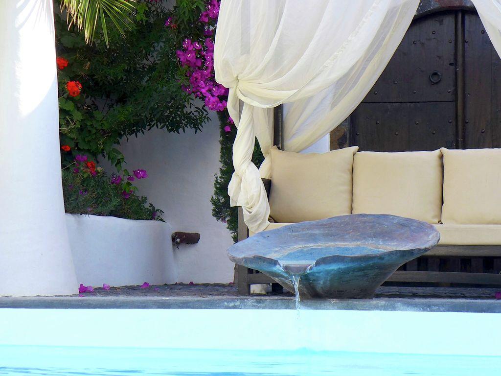 Ferienhaus Geräumige Villa in Megalochori Santorini mit Swimmingpool (455215), Thira, Santorini, Kykladen, Griechenland, Bild 8
