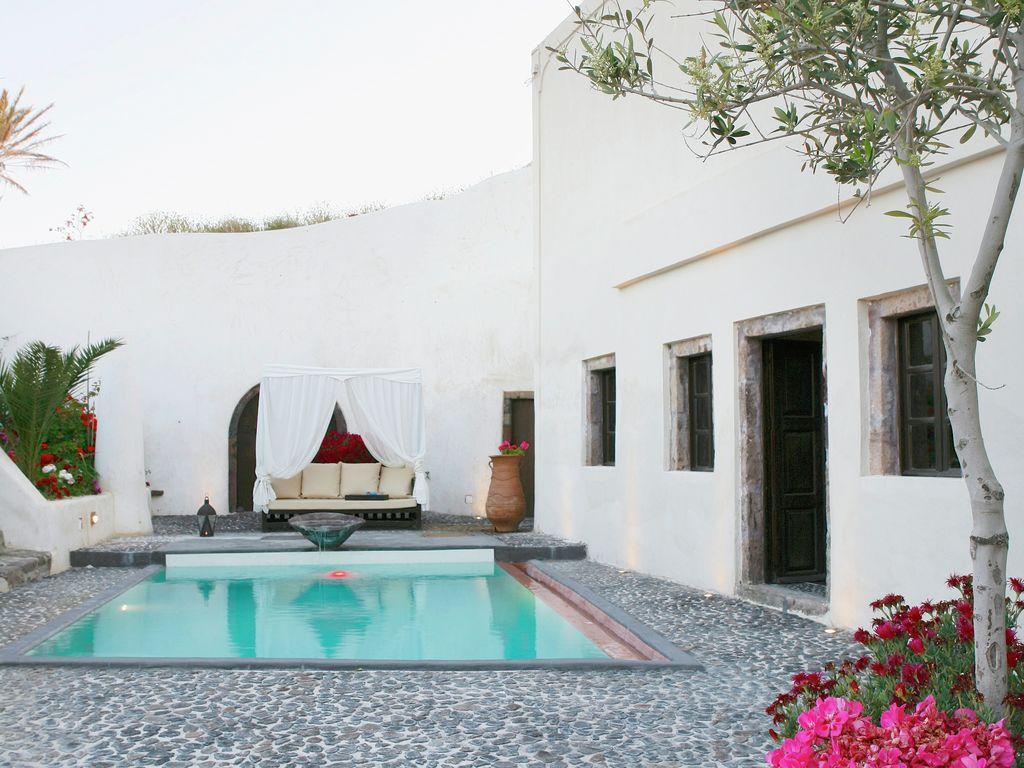 Ferienhaus Geräumige Villa in Megalochori Santorini mit Swimmingpool (455215), Thira, Santorini, Kykladen, Griechenland, Bild 6