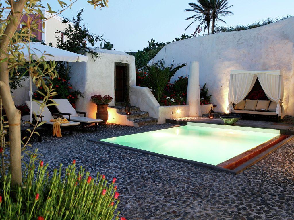 Ferienhaus Geräumige Villa in Megalochori Santorini mit Swimmingpool (455215), Thira, Santorini, Kykladen, Griechenland, Bild 13