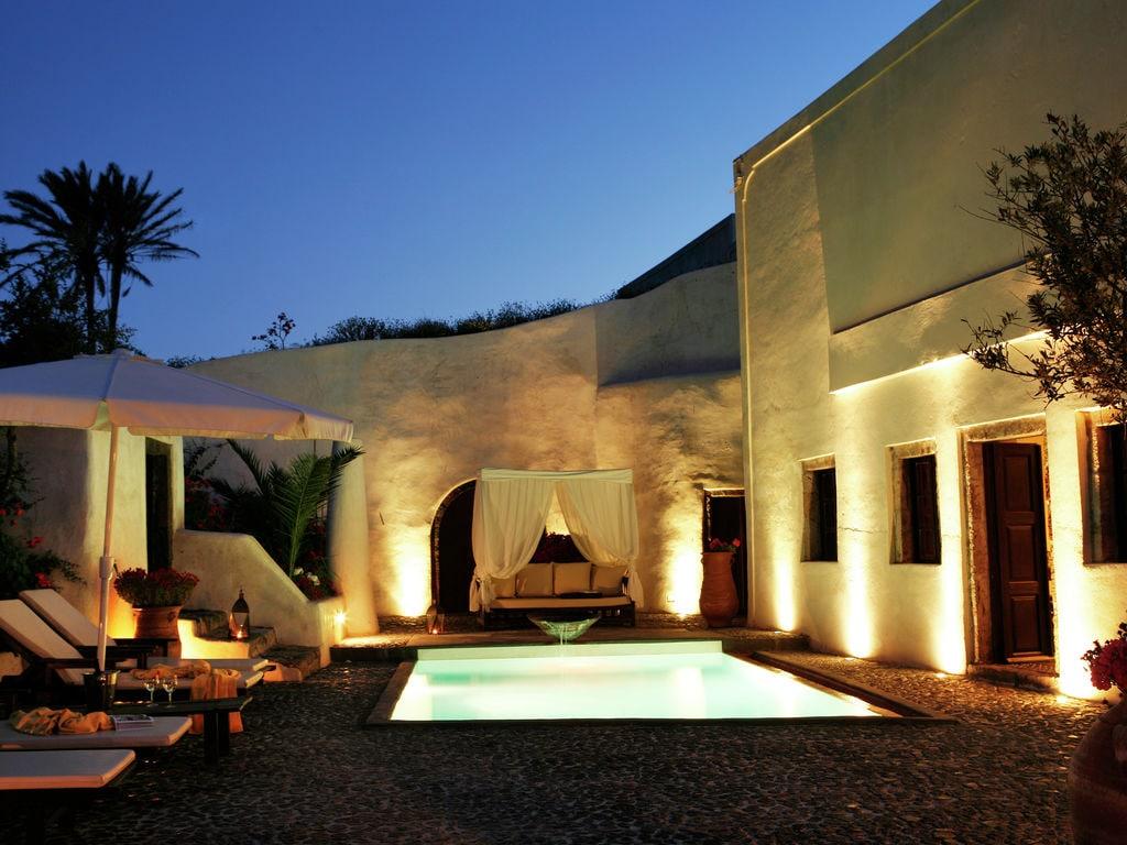 Ferienhaus Geräumige Villa in Megalochori Santorini mit Swimmingpool (455215), Thira, Santorini, Kykladen, Griechenland, Bild 4