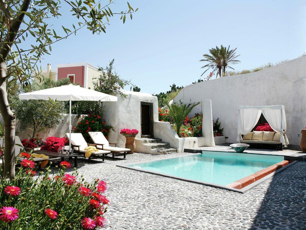 Ferienhaus Geräumige Villa in Megalochori Santorini mit Swimmingpool (455215), Thira, Santorini, Kykladen, Griechenland, Bild 3