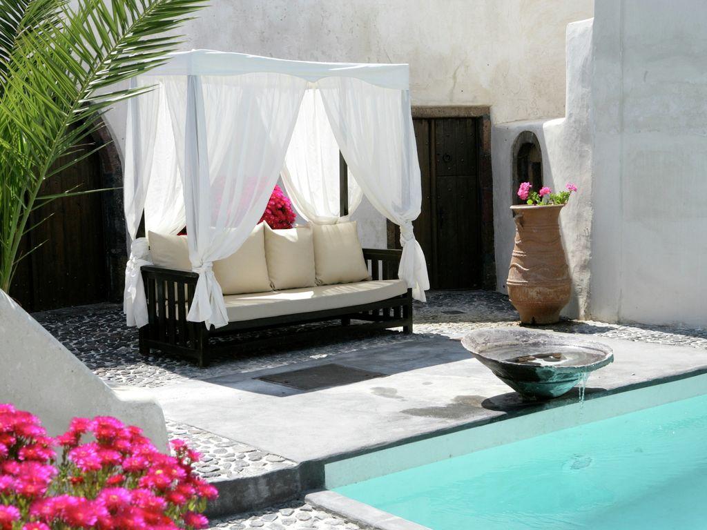 Ferienhaus Geräumige Villa in Megalochori Santorini mit Swimmingpool (455215), Thira, Santorini, Kykladen, Griechenland, Bild 7