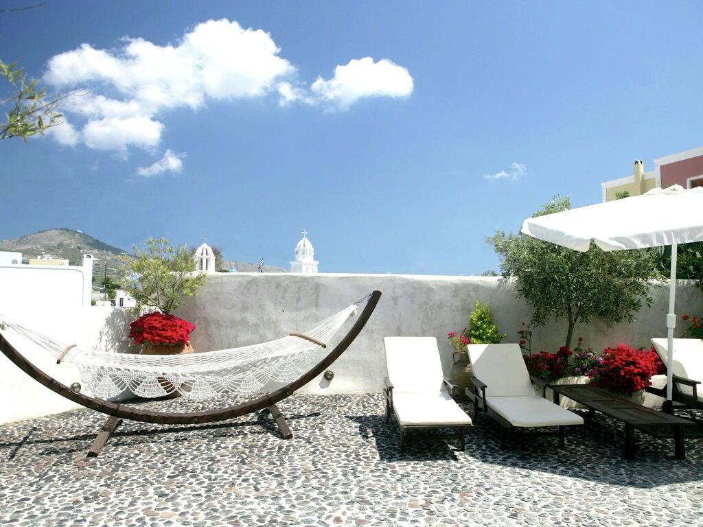 Ferienhaus Geräumige Villa in Megalochori Santorini mit Swimmingpool (455215), Thira, Santorini, Kykladen, Griechenland, Bild 9