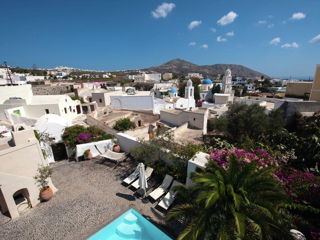 Ferienhaus Geräumige Villa in Megalochori Santorini mit Swimmingpool (455215), Thira, Santorini, Kykladen, Griechenland, Bild 5