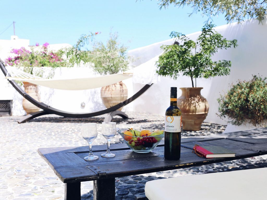 Ferienhaus Geräumige Villa in Megalochori Santorini mit Swimmingpool (455215), Thira, Santorini, Kykladen, Griechenland, Bild 35