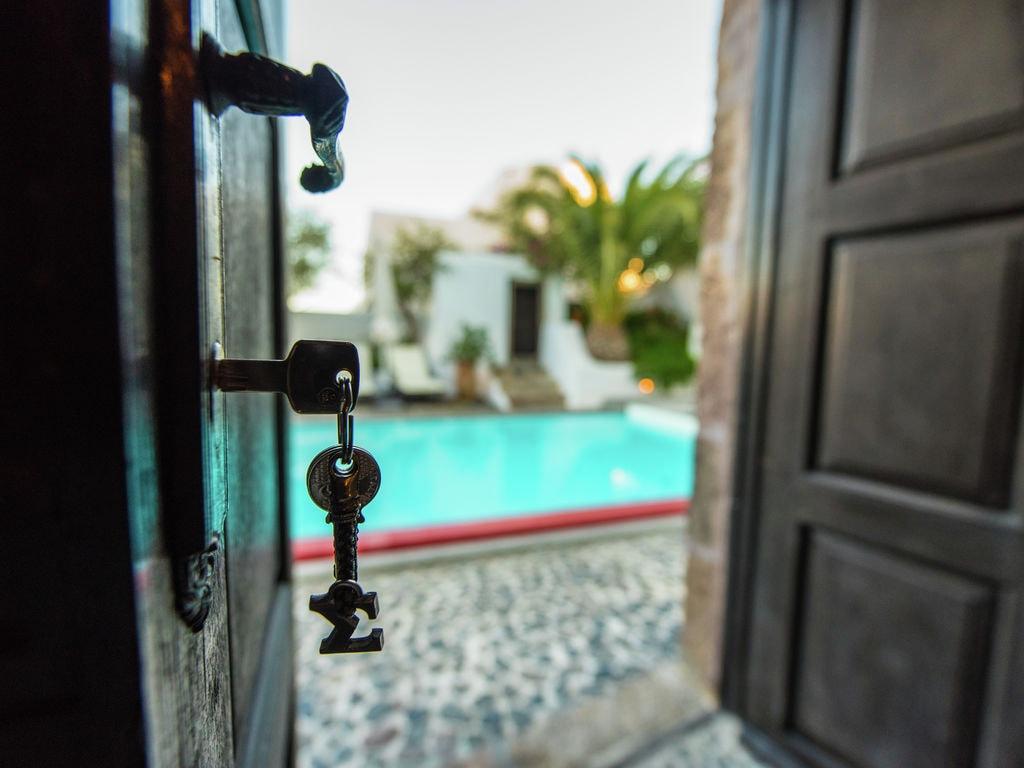 Ferienhaus Geräumige Villa in Megalochori Santorini mit Swimmingpool (455215), Thira, Santorini, Kykladen, Griechenland, Bild 33