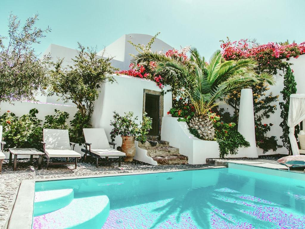Ferienhaus Geräumige Villa in Megalochori Santorini mit Swimmingpool (455215), Thira, Santorini, Kykladen, Griechenland, Bild 2
