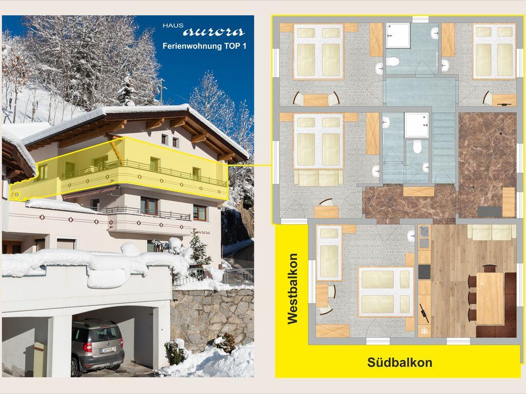 Ferienwohnung Großzügiges Apartment in der Nähe des Skigebiets in Kappl (462613), Kappl, Paznaun - Ischgl, Tirol, Österreich, Bild 33