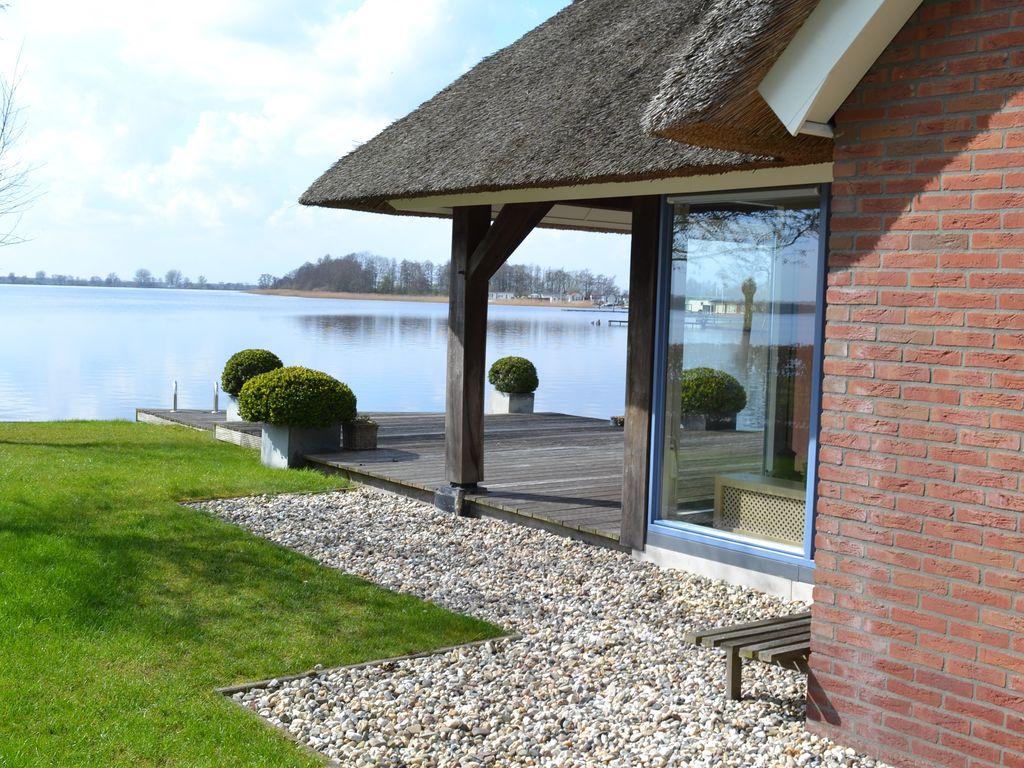 Ferienhaus Stilvoll reetgedeckte Villa mit 2 Badezimmern bei Giethoorn (222554), Dinxterveen, Kop van Overijssel, Overijssel, Niederlande, Bild 8