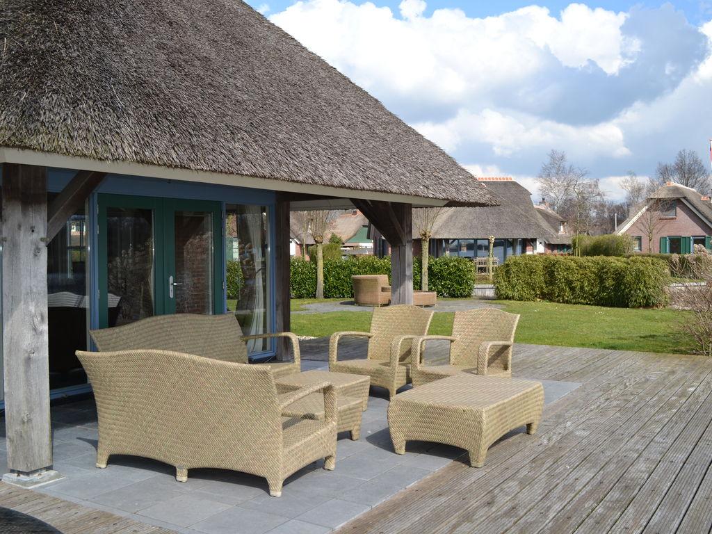 Ferienhaus Stilvoll reetgedeckte Villa mit 2 Badezimmern bei Giethoorn (222554), Dinxterveen, Kop van Overijssel, Overijssel, Niederlande, Bild 9