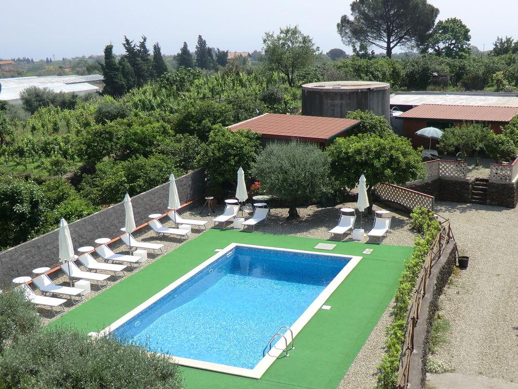 Maison de vacances Komfortables Ferienhaus mit eigenem Pool in Sizilien (487018), Sant'Alfio, Catania, Sicile, Italie, image 25