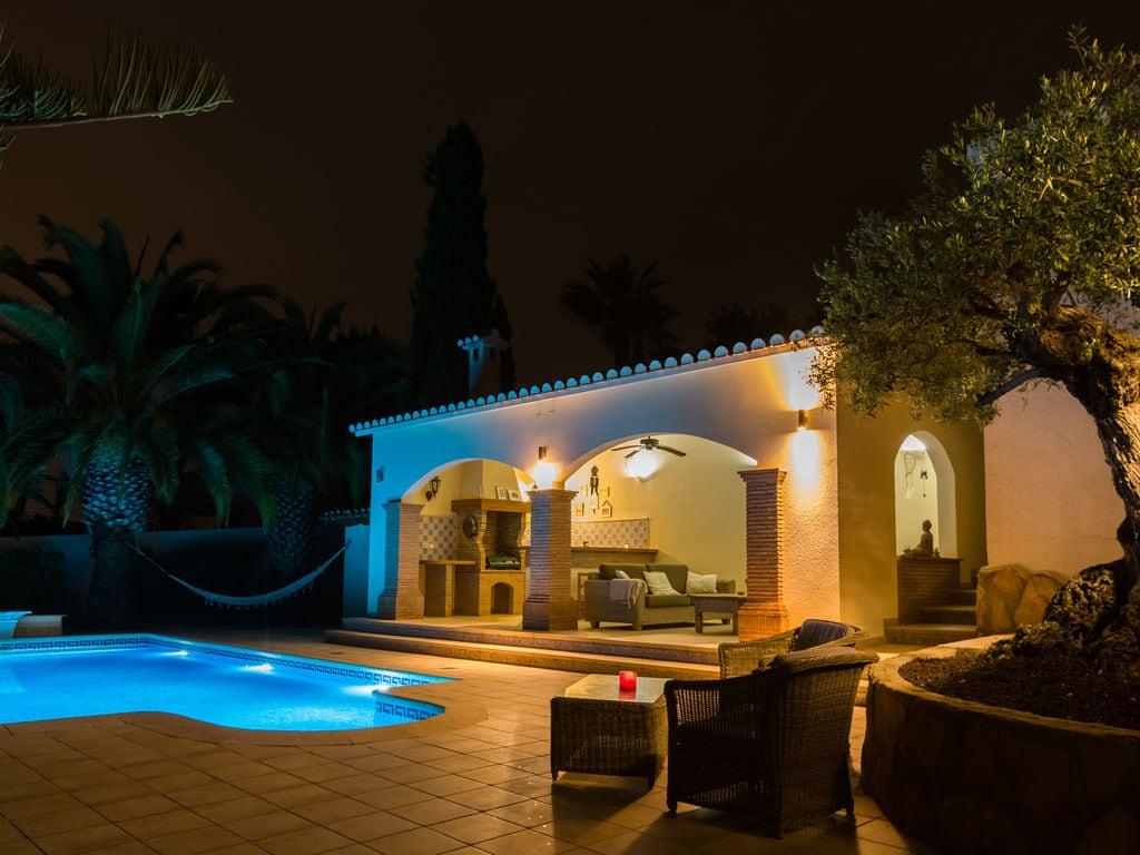 Ferienhaus Geräumige Villa mit Swimmingpool in Moraira (500694), Moraira, Costa Blanca, Valencia, Spanien, Bild 9
