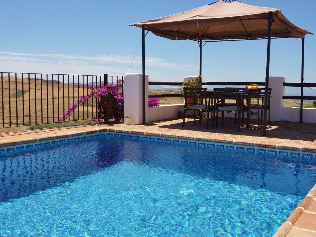 Ferienhaus Luxuriöse Villa in Antequera mit privatem Pool (503768), Villanueva de la Concepcion, Malaga, Andalusien, Spanien, Bild 22