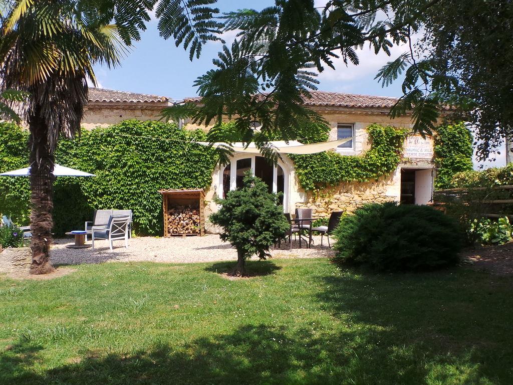 Maison de vacances Steinhaus inmitten eines Weinbergs, mit Swimmingpool, in der Nähe von Bordeaux (551317), Cadillac, Gironde, Aquitaine, France, image 2