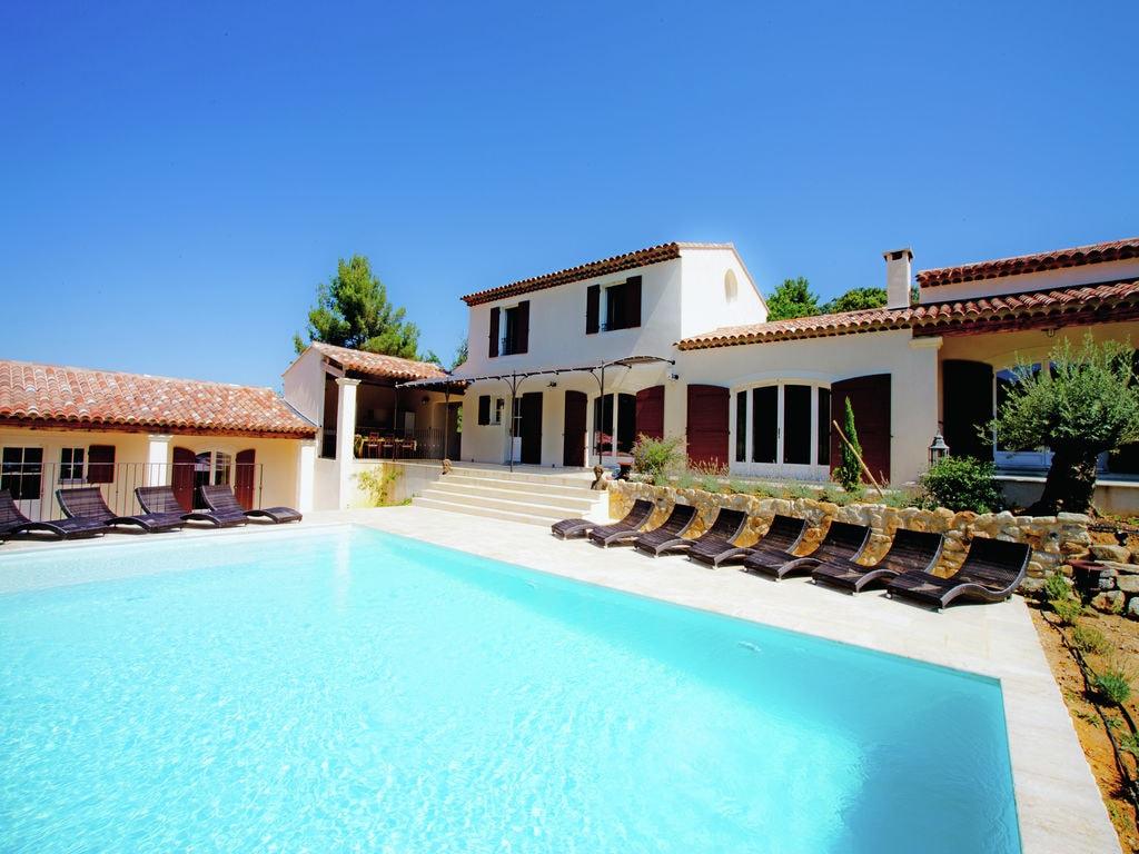 Ferienhaus Zeitgenössische Villa in Apt mit eigenem Pool (1758808), Apt, Vaucluse, Provence - Alpen - Côte d'Azur, Frankreich, Bild 3