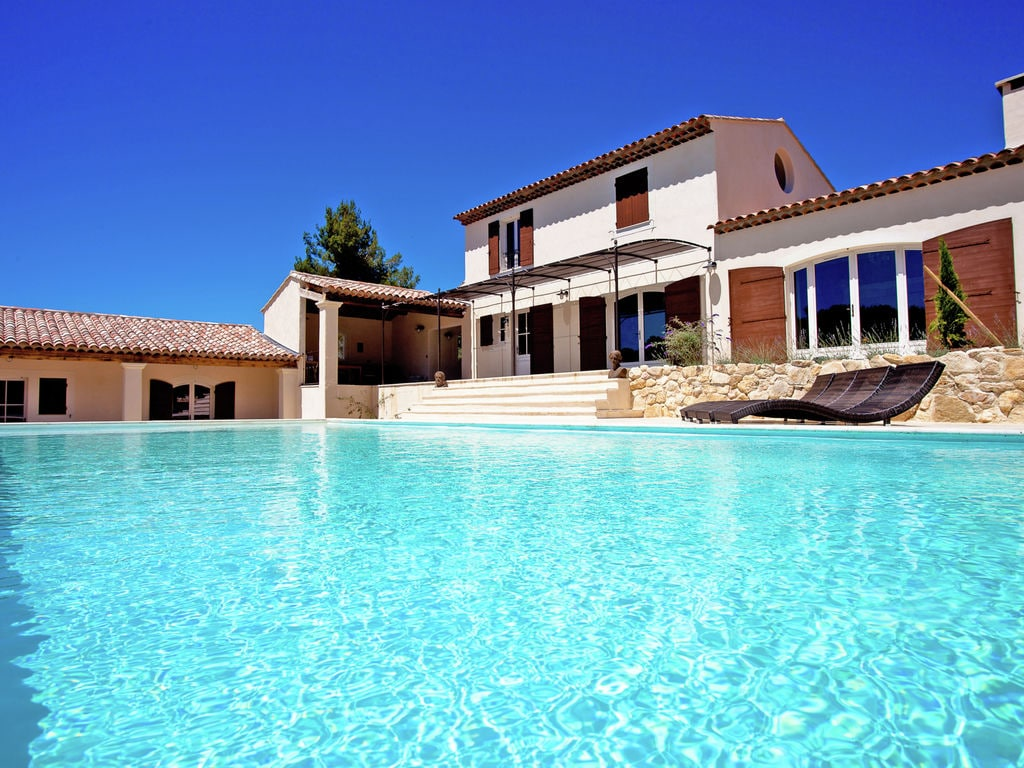 Ferienhaus Zeitgenössische Villa in Apt mit eigenem Pool (1758808), Apt, Vaucluse, Provence - Alpen - Côte d'Azur, Frankreich, Bild 4