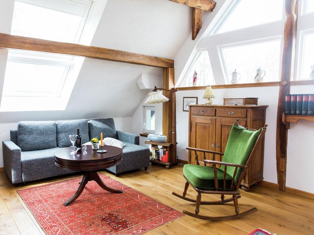 Vintage-Apartment in Morsbach mit Terrasse Ferienwohnung in der Eifel