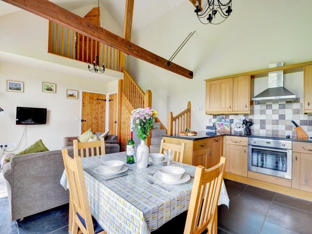 Ferienhaus Modernes Ferienhaus in Umberleigh in der Nähe des Flusses (597352), Fishley Barton, Devon, England, Grossbritannien, Bild 4