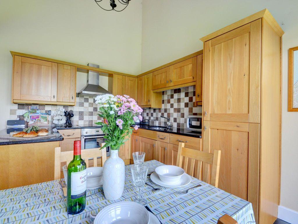 Ferienhaus Modernes Ferienhaus in Umberleigh in der Nähe des Flusses (597352), Fishley Barton, Devon, England, Grossbritannien, Bild 8